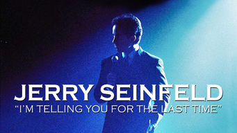 Jerry Seinfeld: I'm Telling You for the Last Time (1999)